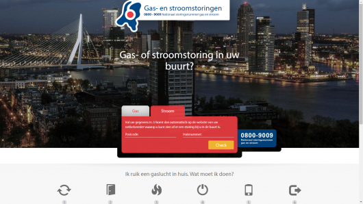Gas- en Stroomstorignen