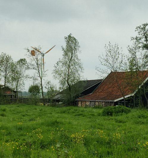 Kleine windmolen